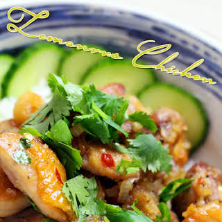 Vietnamese Lemongrass Chicken.