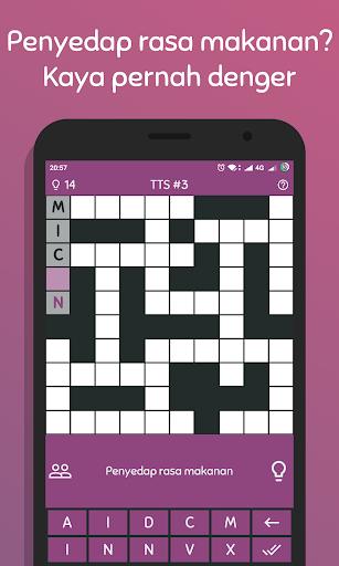 TTS Pintar 2018 - Teka Teki Silang Offline 1.2.3 gameplay | by HackJr.Pw 3