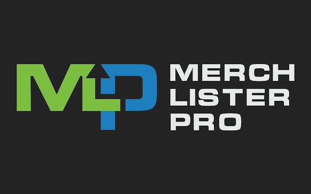 Merch Lister Pro