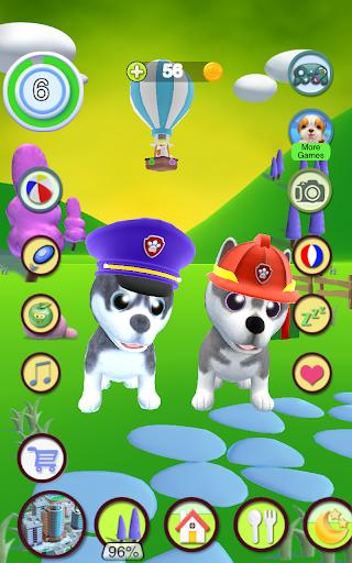 Talking Husky Dog apkdebit screenshots 9