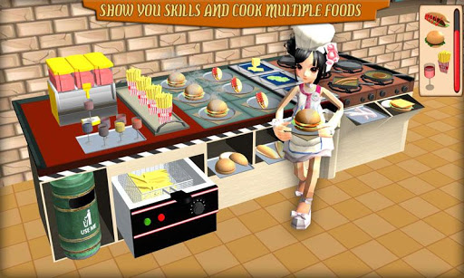 Virtual Chef Cooking Simulation  captures d'u00e9cran 1