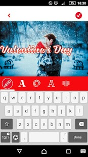 Valentine's Day Video Maker - Love Photo Frames - náhled
