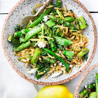 Spring Orzo with Asparagus, Lemon and Dill Recipe