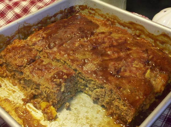 Delena's Favorite Meatloaf With Sorghum Glaze Recipe