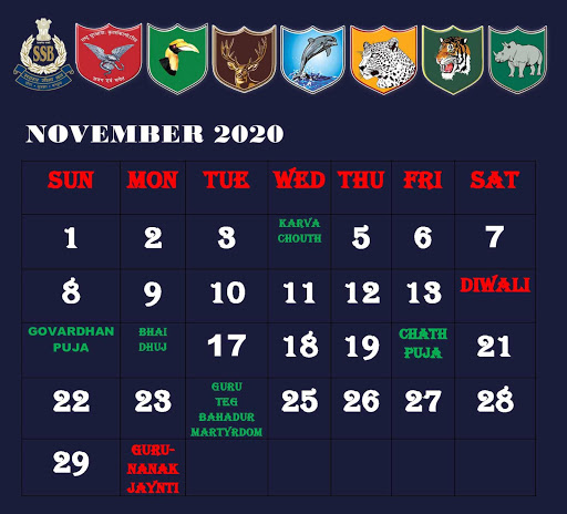 MySSB Calendar 2020 Apk 2