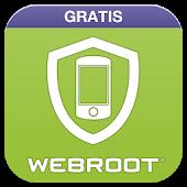 Proteção antivírus Webroot