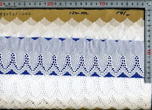Photo: №730761-002綿レース:巾70mm