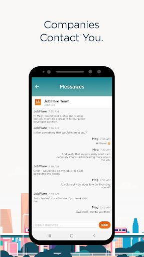 JobFlare for Job Search u2013 Play Games. Get Hired. screenshots apkspray 6