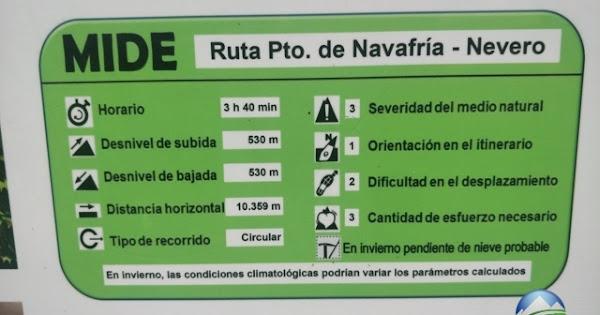 Mide Pico del Nevero