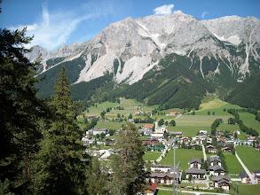Photo: Ramsau gegen Dachsteinmassiv