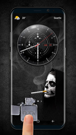 cigarette & smoke Lock Screen 9.3.0.1954_master screenshots 1
