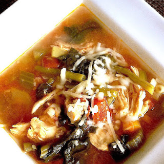 Easy 21 Day Fix Chicken and Veggie Soup (Instant Pot/ Stove Top/ Crock Pot) Recipe