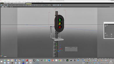 Photo: 自作模型鉄道信号機設計開始