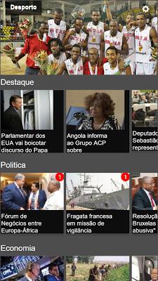 Noticias de Angola - screenshot