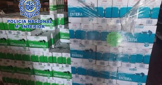 Detenido el responsable de logística de Cruz Roja por la venta de leche donada