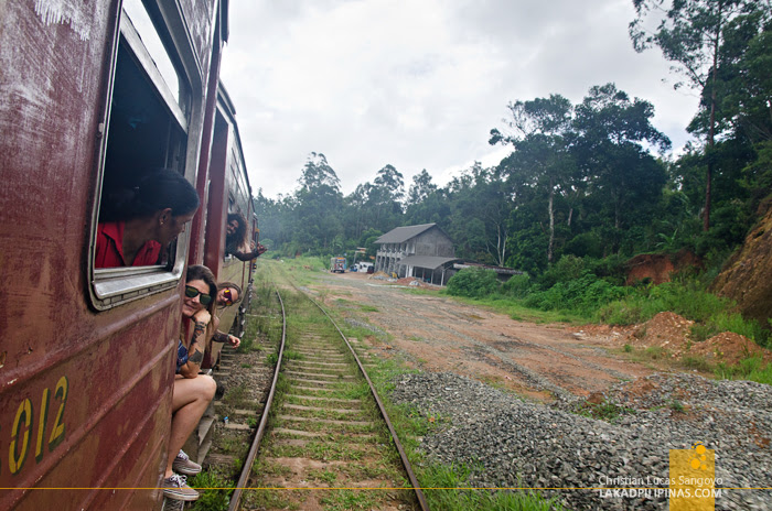 Sri Lanka Railways Ella
