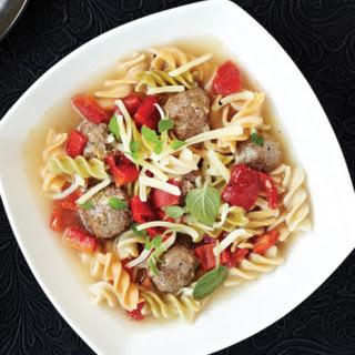 Meatball & Rotini Soup