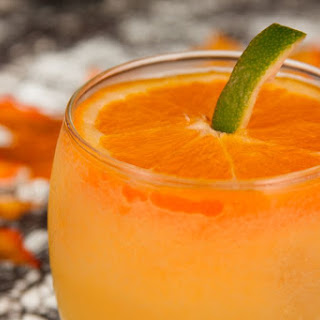 Jack-O-Lantern Cocktail.