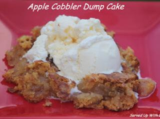 Apple Cobbler Dump Cake Recipe