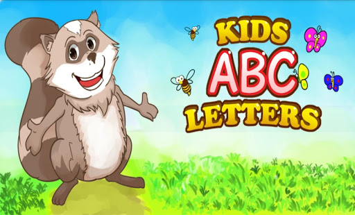 孩子们学习ABC教育(英语)