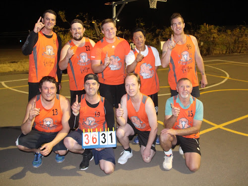Men's Champs: Wilga - Back, Justin Hannaford, Michael Hewett, Mitch Nairn, Pete Calsena, Chris Simmons, front, Leon Cunningham, Andy McManus, Merv Bushby and Kevin Lawty.