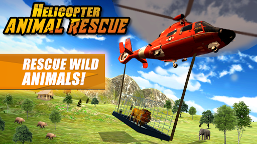 Screenshot for Helicopter Wild Animal Rescue in United States Play Store