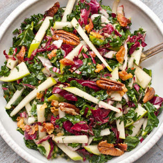 Kale, Apple and Pancetta Salad.