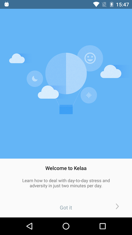 Kelaa Mental Resilience- screenshot