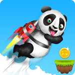 Panda Runner : Cross the hurdles Game Icon