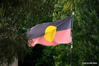 Photo: Year 2 Day 227 - Flying the Aborigine Flag