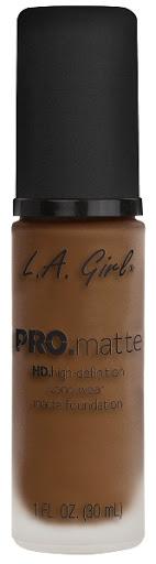 Bases La Girl Pro Matte 721 Soft Sable