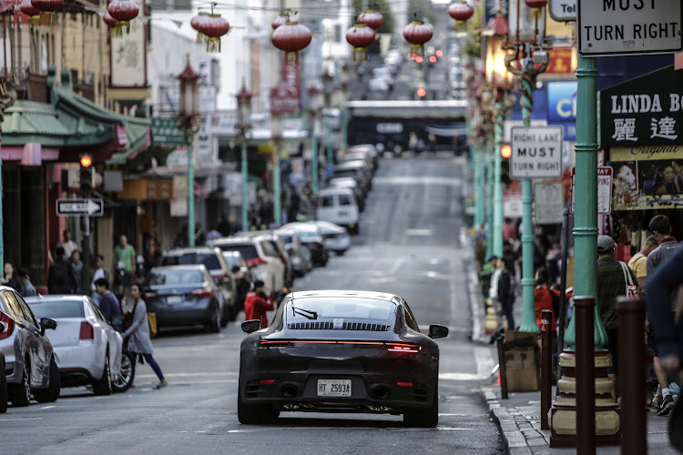The congested streets of China test the new car's everyday livability
