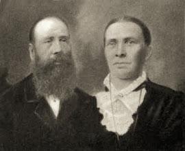 Photo: John & Ingeborg (Halversdtr) Stenersen, paternalgreat grandparents