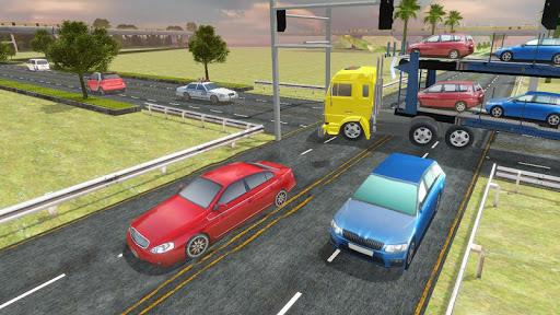 Highway Cargo Truck Transport Simulator screenshot 11