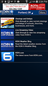 PDX Weather - KOIN Portland OR screenshot 3