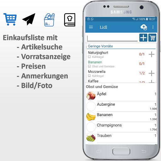 Einkaufsliste Plus screenshot