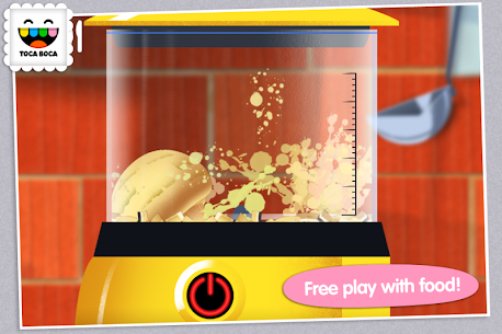 Toca Kitchen 1.1.7-play Mod + Data for Android 2