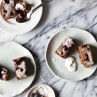 Berry and Hazelnut Cakes