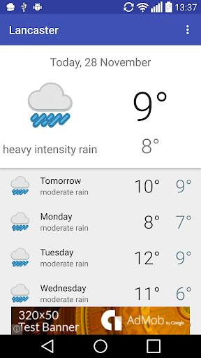 Lancaster GB - weather