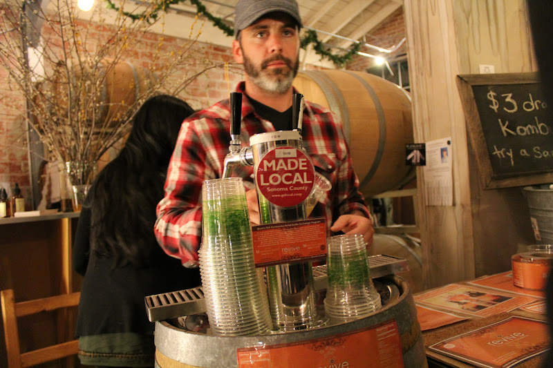 Photo: Revive Drinks serving Sonoma-made Kombucha in the 25th Street Collective http://revivebrands.myshopify.com