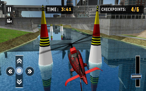 Flying Helicopter Simulator 2019: Heli Racer 3D  screenshots 10