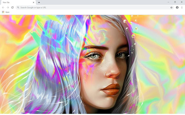 Billie Eilish Artist Wallpapers and New Tab