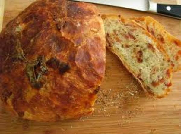 Freezer Bacon Casserole Bread Recipe
