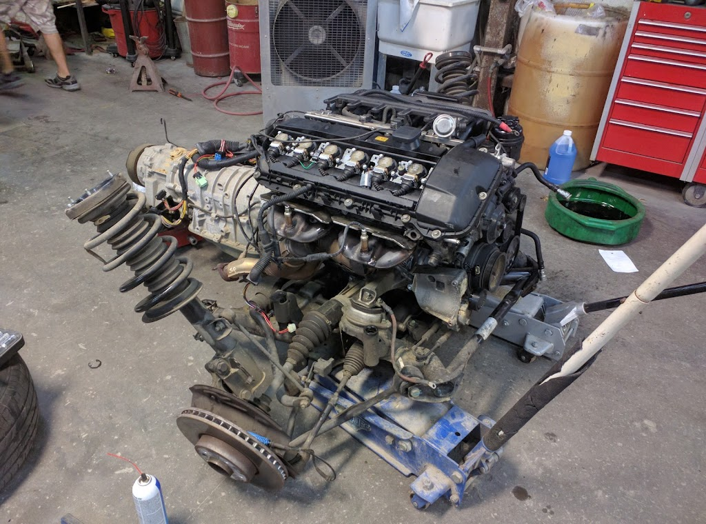 01 X5 3 0i engine replacement project - Xoutpost com