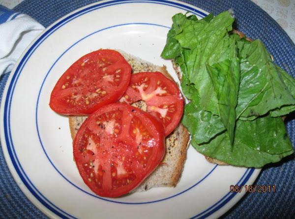 The Malia Sandwich-  I'm On Vacation On M.v. Too! Recipe