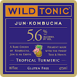 Wild Tonic Tropical Turmeric Jun Kombucha