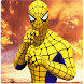 Flying spider crime city rescue game