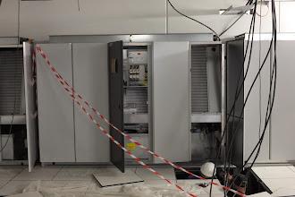 Photo: Armoire échangeur climatisation (Visite de chantier 2 Oct. 2014)