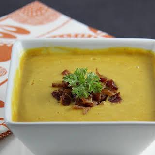 Potato Leek and Carrot Soup.