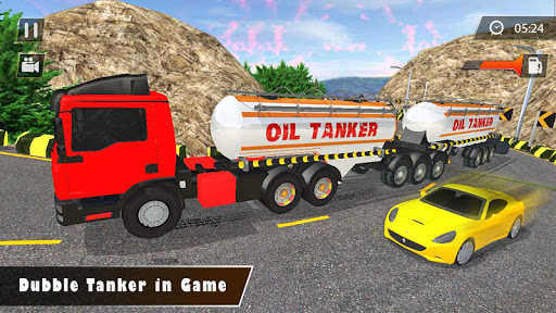 Liquid  Oil  Tanker  Transport Cargo Drive  Game cheat screenshots 1